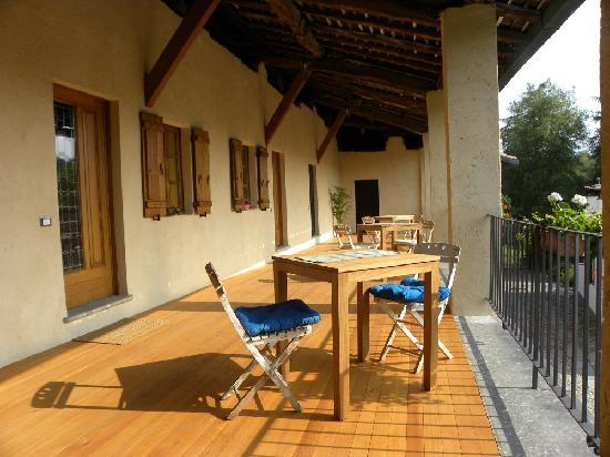 Drezzo, Italien: Terrazzo