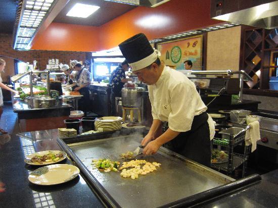 Ichiban Buffet: Hibachi food