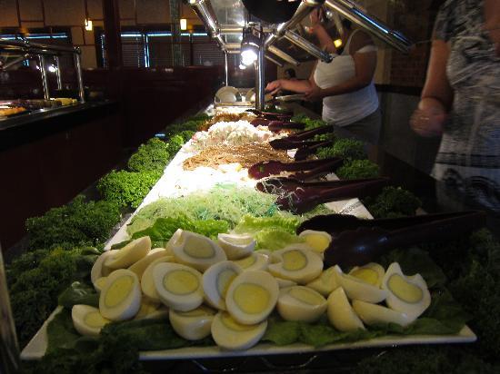 Ichiban Buffet: Salad ingredients