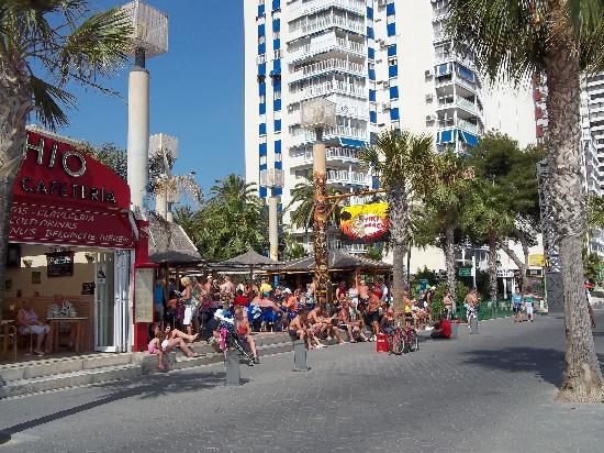 Port Fiesta Park: Tiki Beach bar-Levante Beach