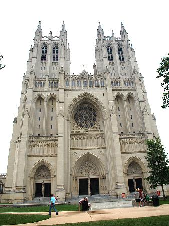 Washington National Cathedral: Main entry