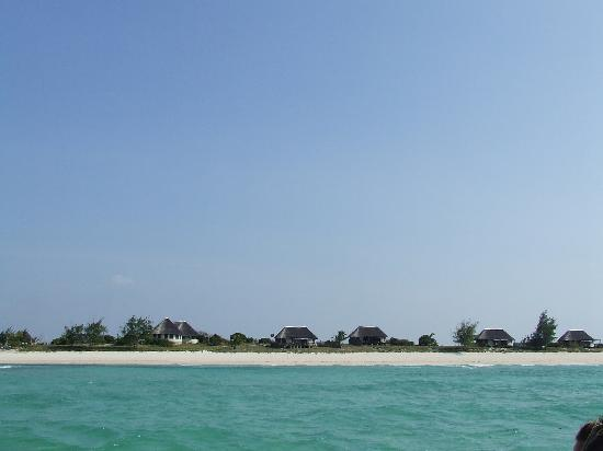 Coral Lodge 15.41 : Sea facing Villas - taken from the boat.