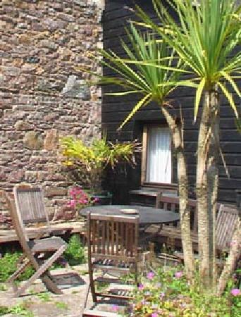 Farm Court : Courtyard garden