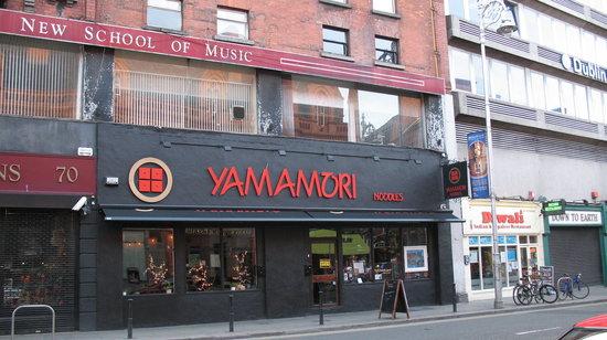 Yamamori Noodles : Outside