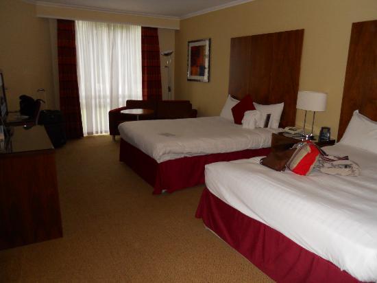Hilton Maidstone: chambre standart 2 lits
