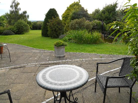 Tyn Rhos Country House: terrasse