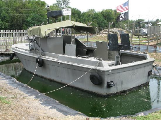 Mount Pleasant, Güney Carolina: Vietnam Patrol Boat