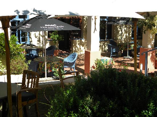 Dining Room @ Montagu Country Hotel: Patio