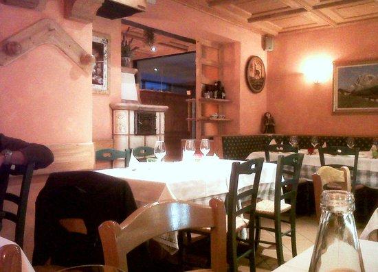 San Martino di Castrozza, Italia: Interno