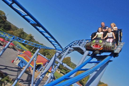 Paultons Park: The Cobra Roller Coaster at Paultons