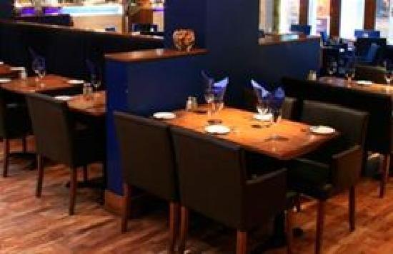 Auberge - St Christophers Place: Restaurant
