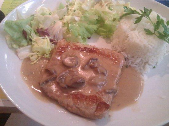 Terra Cafe: Côte de veau à la Normande