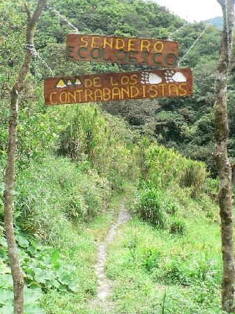 Banos, Ecuador: one of the beautiful walks in the valley
