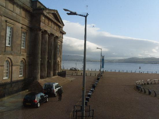 Greenock, UK: view from our bedroom