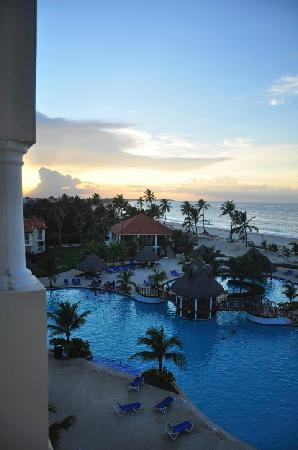 Occidental Caribe: view from our room in building 3