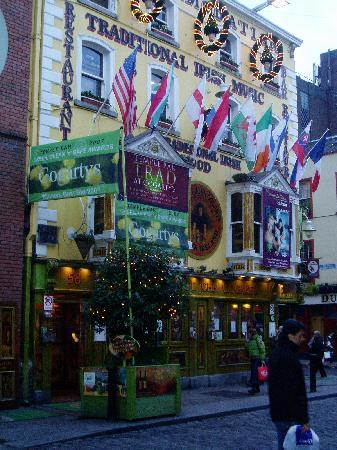 Oliver St. John Gogarty's Hostel: External view of the Pub