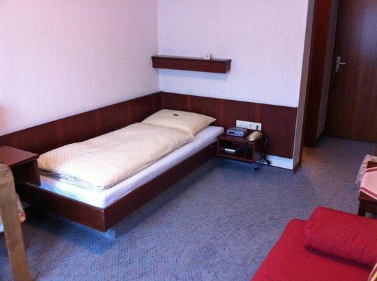 Hotel Garni Kupferhammer : Bed