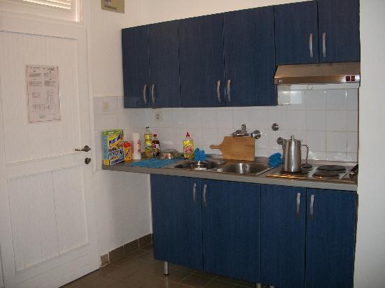 Apartments Lanterna: Cocina.