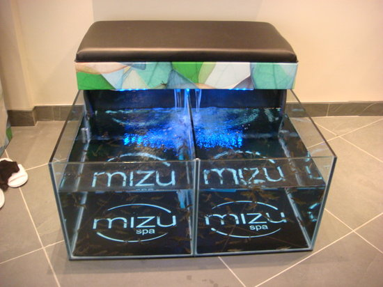 Mizu Spa: The tanks
