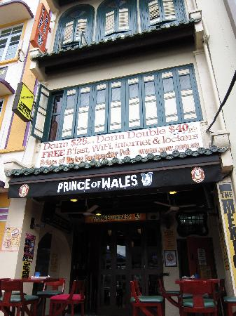 Prince of Wales Backpacker - Boat Quay: PoW @ Boat Quay外觀