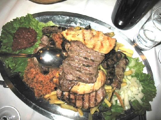 Tragos: Mixed Meats Platter for Two