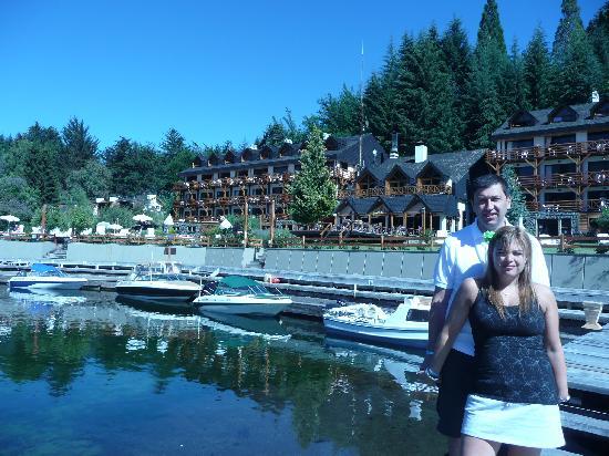 Bahia Manzano Resort: Fachada del hotel