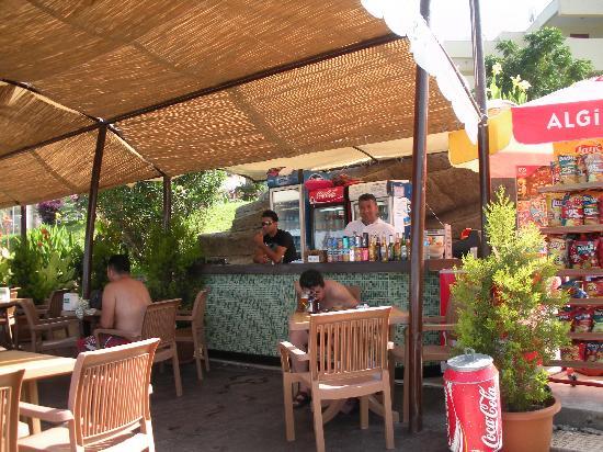 Ambassador Plaza Hotel : Fra stranden
