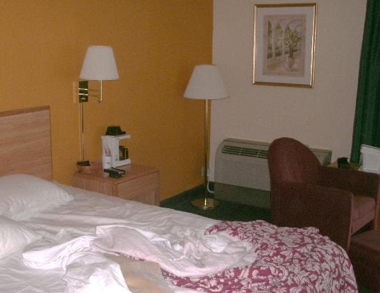 Howard Johnson Inn - Newburgh: Our room