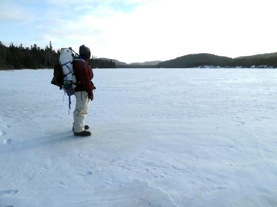 Worksheet. Explore the park in winters solitude  Picture of Pukaskwa