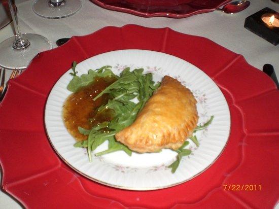 Fabian's : sweet potato empanadas