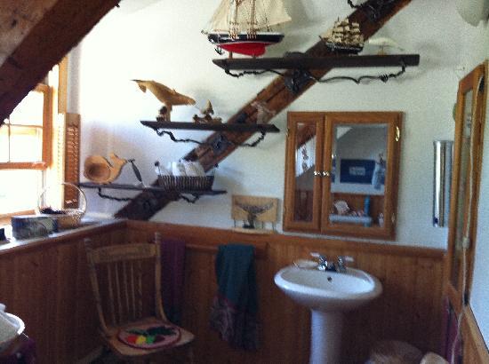 La P'tite Baleine : la salle de bain