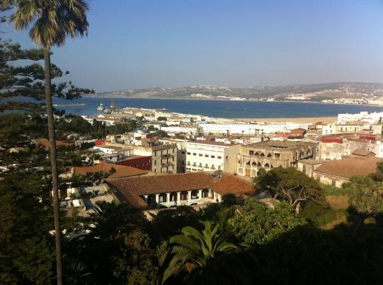 El Minzah Hotel : vue depuis l'hôtel El Minzah