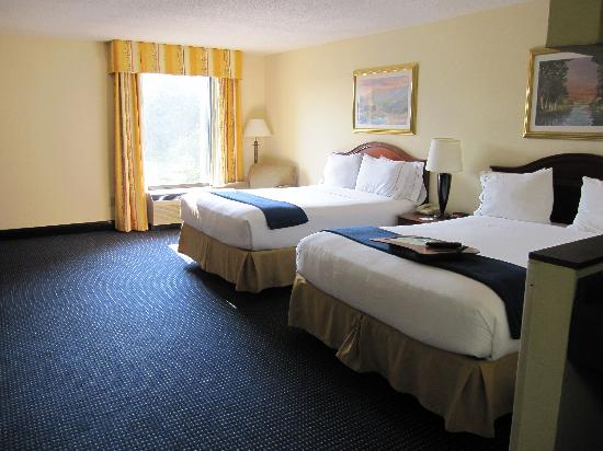 Holiday Inn Express & Suites Atlanta N-Perimeter Mall Area: Beds
