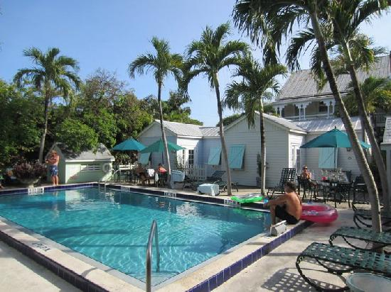 Key Lime Inn Key West: The pool area ...