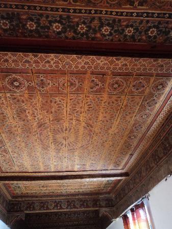 Dar la Cle de la Medina : suite cumin et son magnifique plafond