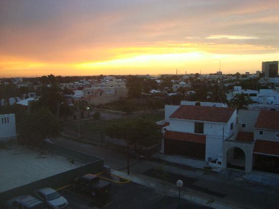 City Express Merida: vista desde una de las avitaciones