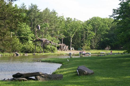 Rip Van Winkle Campgrounds: bass pond