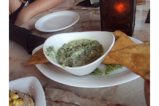 Tapas on the Square: Spinach dip