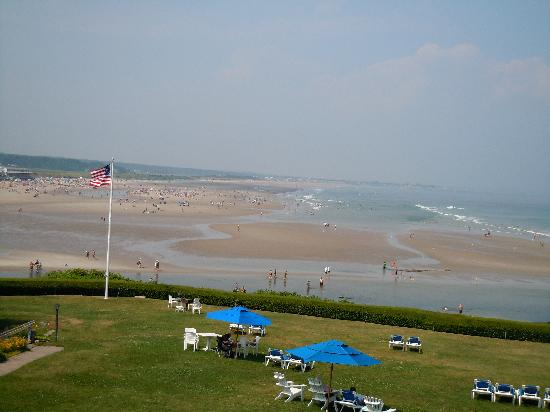 The Beachmere Inn: View from our room!