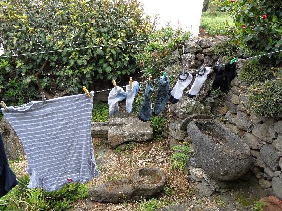 Clothesline at Quinta dos Frutos