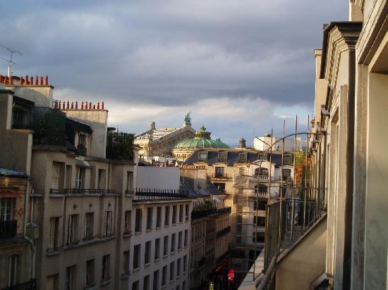Park Hyatt Paris - Vendome: View of the Opera from the balcony