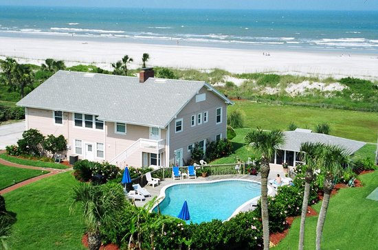 Map Of Saint Augustine Beach Hotels And Attractions On A Tripadvisor