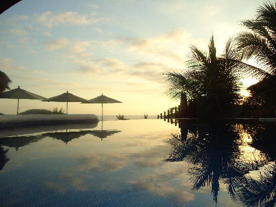 Hotel Cinco Sentidos: Sunset at Cinco Sentidos