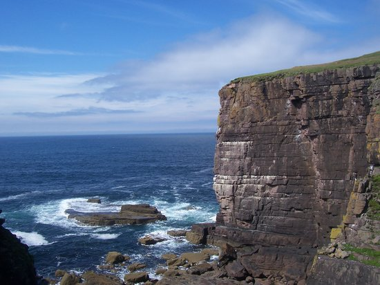 Handa Island, UK : Handa's Cliffs