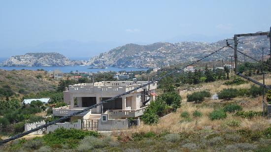 Nicolas Villas : View from hotel balcony