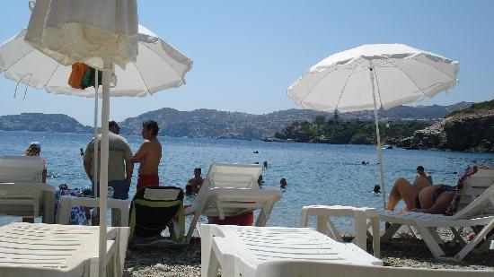 Nicolas Villas: Local beach