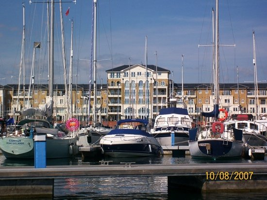 Eastbourne, UK: inner Harbour