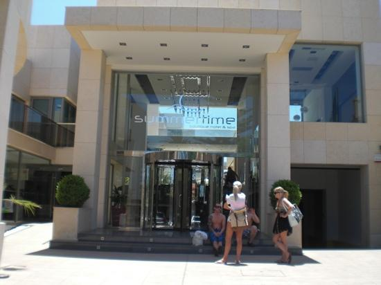 Summertime Boutique Hotel & Spa: entrance