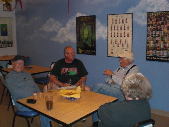 Whitstran Brewing Company: Imbibers der Hoppi`