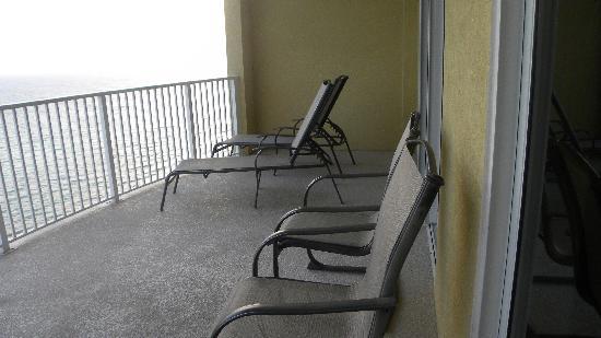 Ocean Villa Condos: Balcony at Ocean villas